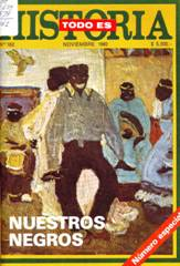 Fig 1. Front cover of Todo es historia, published in November 1980. Published with permission of Todo es historia.